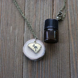 South Carolina Essential Oil Delicate Diffuser Necklace -- FREE SHIPPING // Exclusively Designed for Lowcountry Eclectic