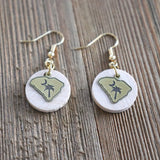 South Carolina Essential Oil Diffuser Earrings -- FREE SHIPPING