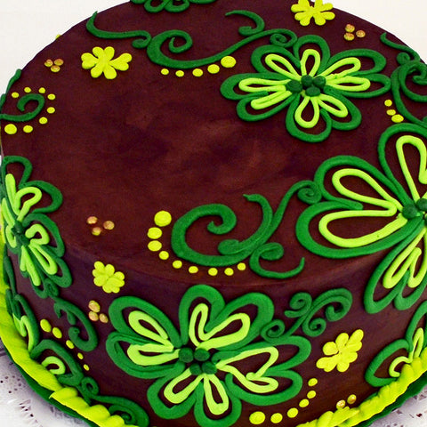 4-Leaf Clover Cake - The Home Bakery