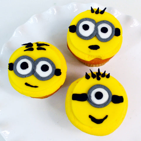 Minion Cupcakes The Home Bakery