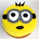 Minion Cupcakes - The Home Bakery