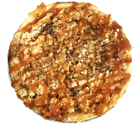 Apple-Caramel Mini Pie - The Home Bakery