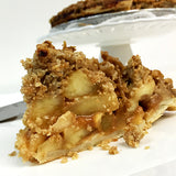 Apple Pie with Brown Sugar Streusel and Salted Caramel
