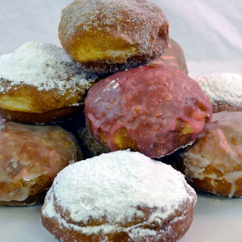 Assorted Pączki (Pack/13) - The Home Bakery
