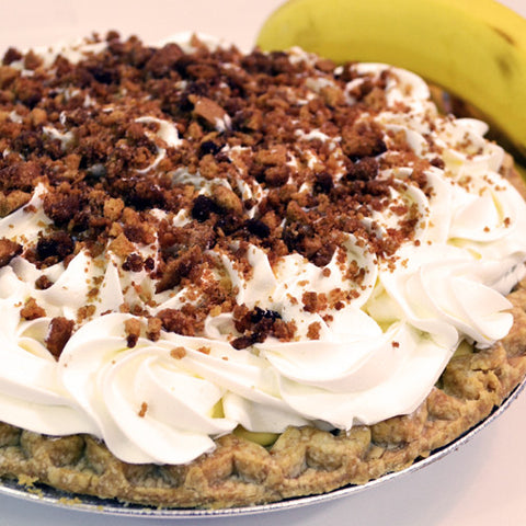 Banana Cream Pie - The Home Bakery