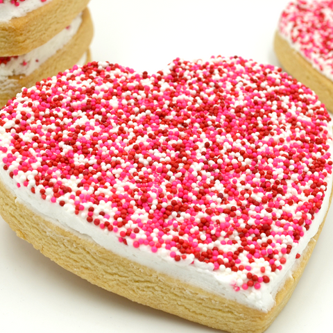 Heart Cookies - Buttercream