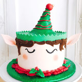 Buddy the Elf Cake