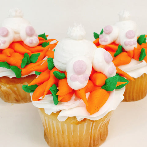 Bunny Pile Cupcake - The Home Bakery