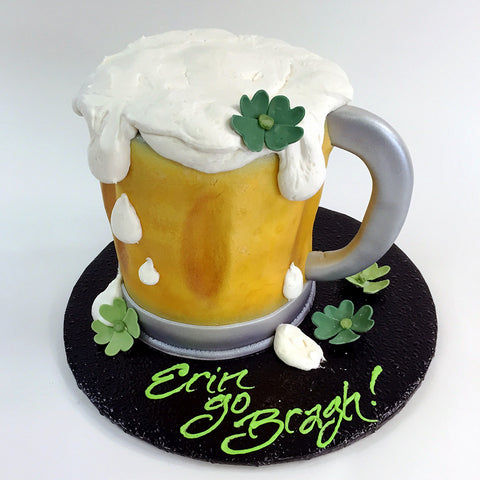 Beer Mug Cake - The Home Bakery