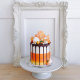 Overloaded Candy Corn Cake