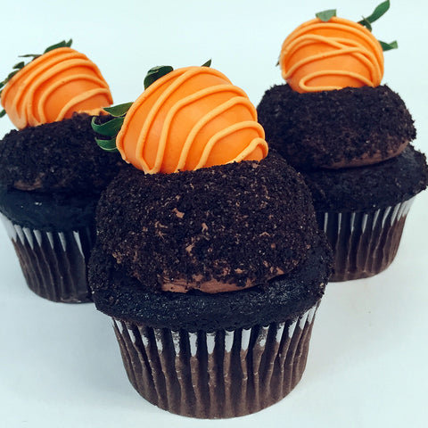 Garden Carrot Cupcake - The Home Bakery