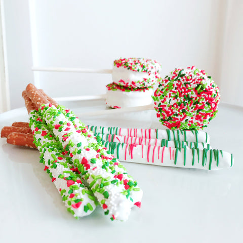 Chocolate-Covered Pretzel - Christmas