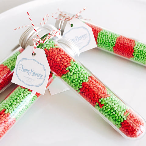 Christmas Sprinkle Shots