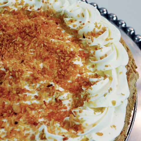 Coconut Cream Pie - The Home Bakery