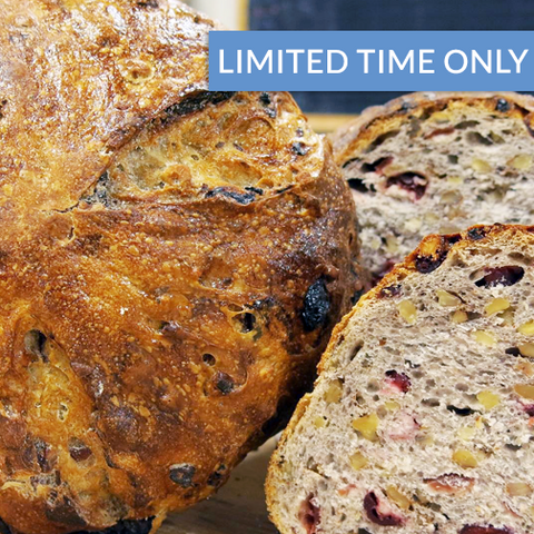Cranberry Walnut Sourdough - The Home Bakery