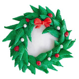 Christmas Wreath Cupcake (6)