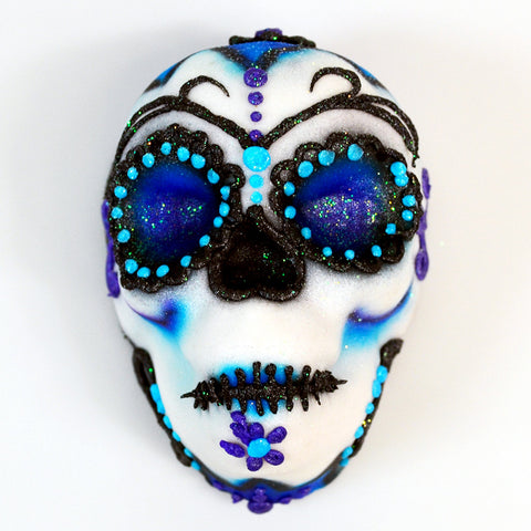Sugar Skull - Mini - White