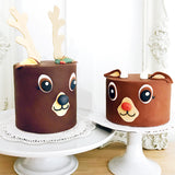 Donner and Rudolph Cake