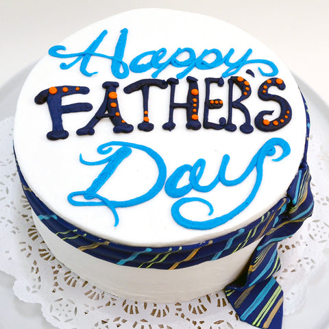 Father's Day Necktie Cake
