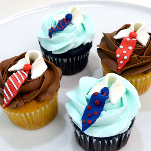 Snazzy Dresser Cupcakes
