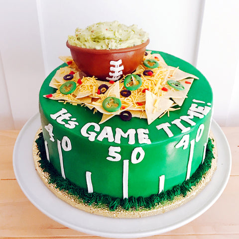 Game Time Nachos Cake