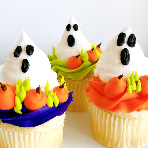 Ghouls Just Wanna Have Fun Cupcakes - Set (6) - The Home Bakery