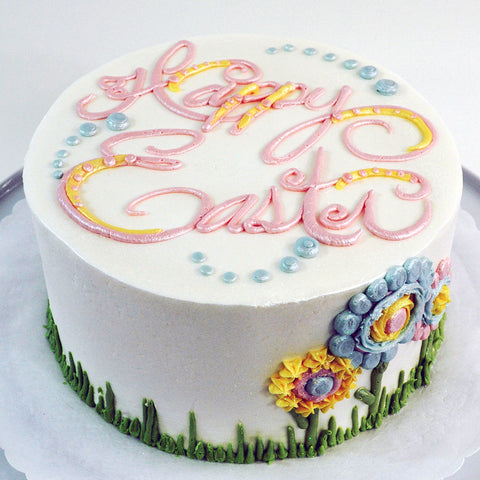 Happy Easter Cake - The Home Bakery