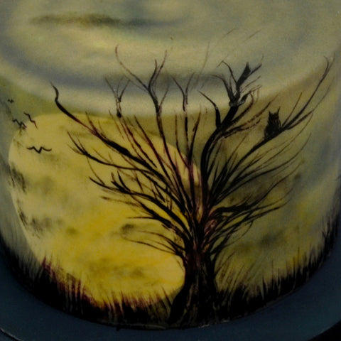 Haunted Tree Cake - The Home Bakery