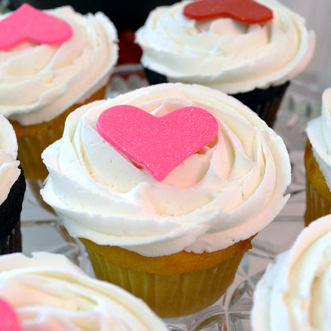 Heart Cupcake - The Home Bakery