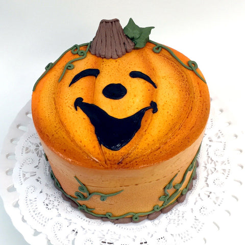 Jolly Jack-O'-Lantern Cake - The Home Bakery