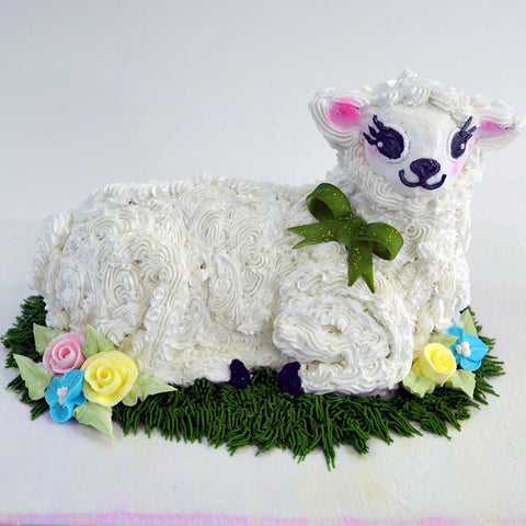 Easter Lamb Cake - The Home Bakery