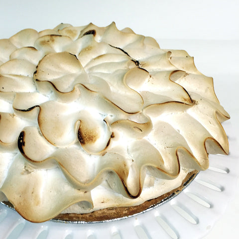 Lemon Shandy Meringue Pie - The Home Bakery