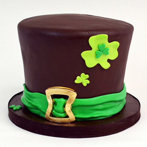 Leprechaun's Hat Cake - The Home Bakery