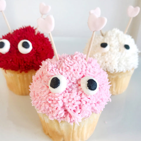 Love Bug Cupcakes - Classic