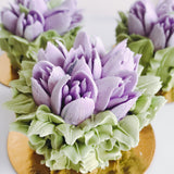 May Flowers Cupcake - Lavender