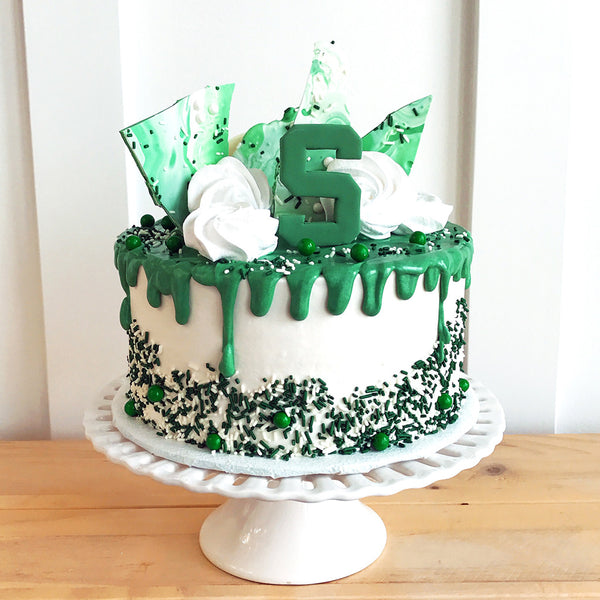 Msu Overloaded Drip Cake The Home Bakery