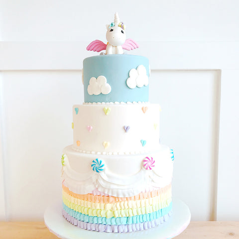 Pegasus in the Clouds Cake