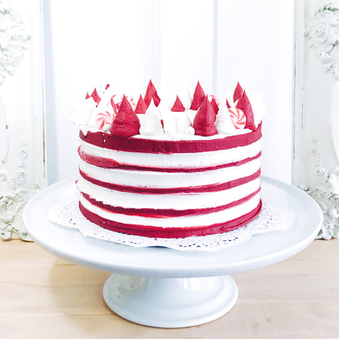 Peppermint Stripes Cake