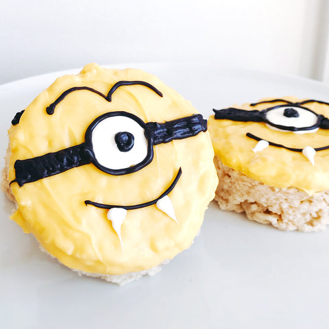 Minion Vampire Rice Krispies™ Treats