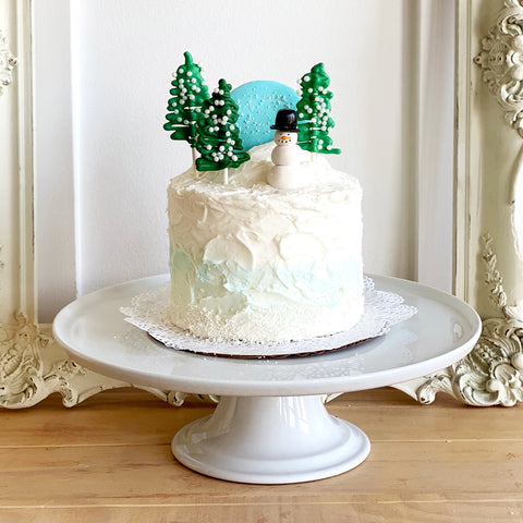 Snow Globe Cake - The Home Bakery