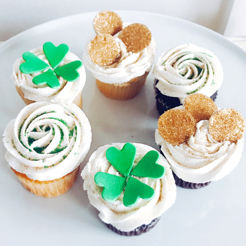 St. Patrick's Day Cupcakes (Set/6)
