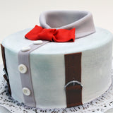 Bow Tie and Braces Cake - The Home Bakery