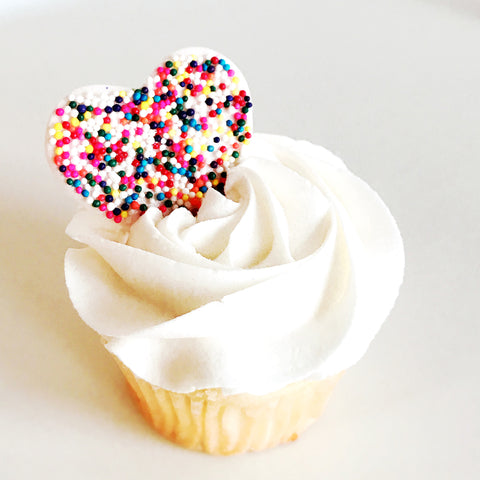 Sweetheart Cupcake- Multicolored