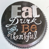 Be Thankful Cake - The Home Bakery