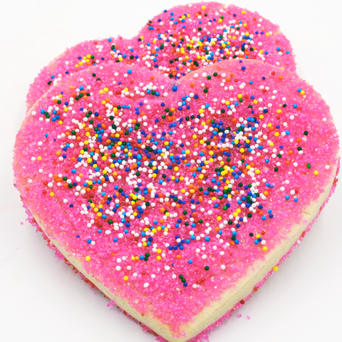 Heart Cookies - Sugar Decorated