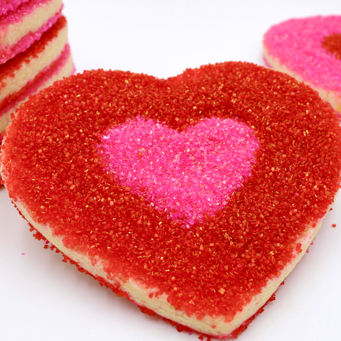 Heart Cookies - Sugar Decorated Hearts