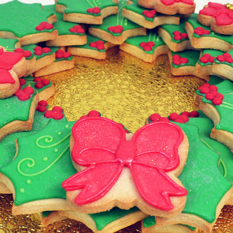 Wreath Cookie Set