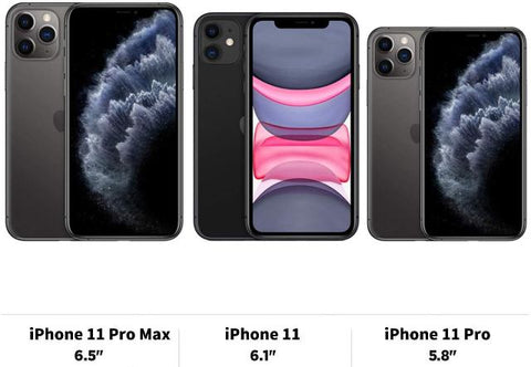 Apple iPhone 11, iPhone 11 Pro, and iPhone 11 Pro Max--- Choose Model from dropdown menu