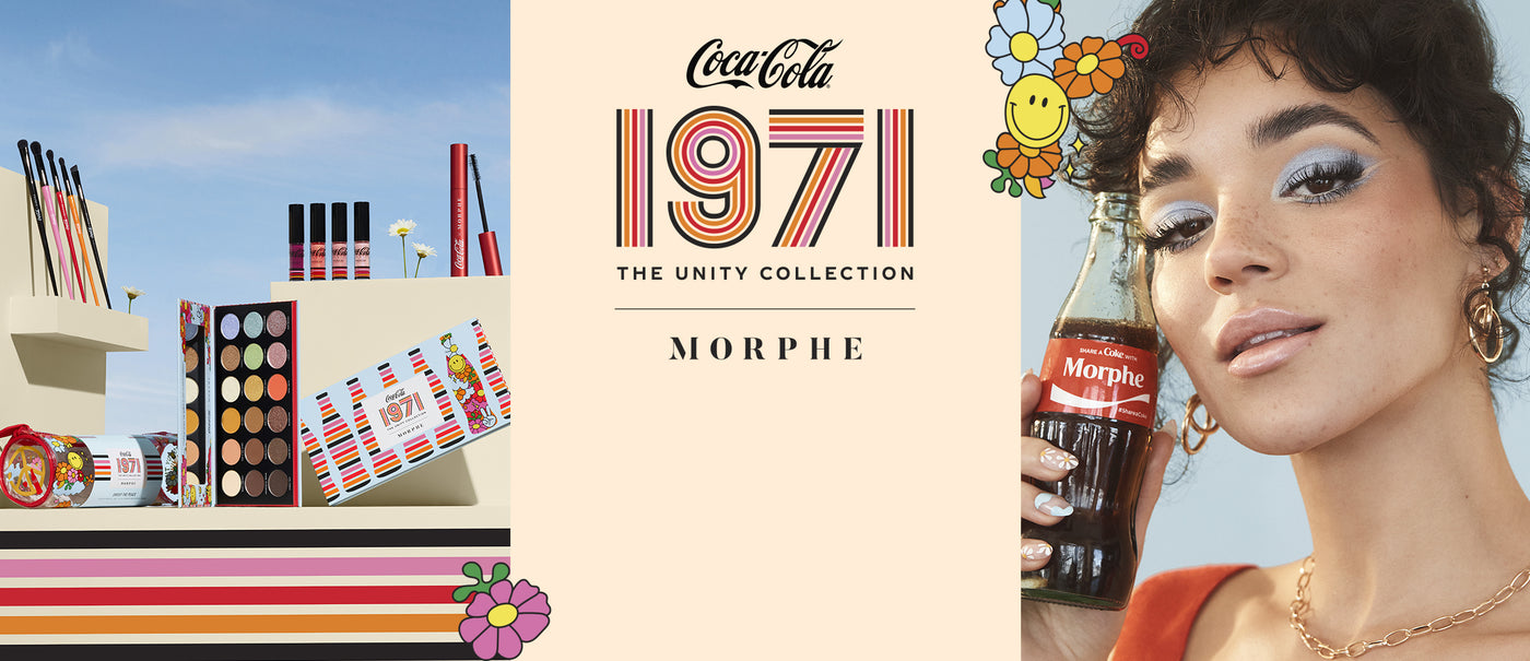Morphe x Coca-Cola 1971 The Unity Collection