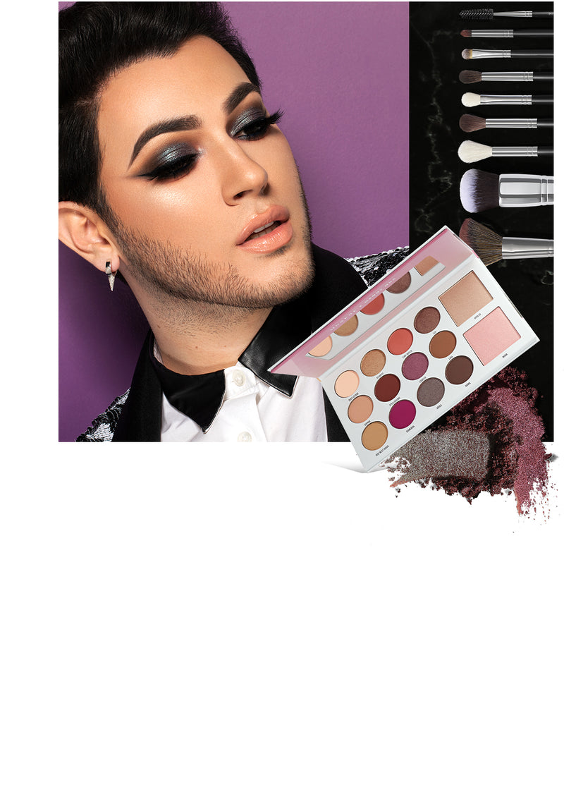 Manny MUA and Morphe X Manny MUA Glam Palette and Brush Collection